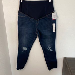 Isabel Maternity Distressed Jeans